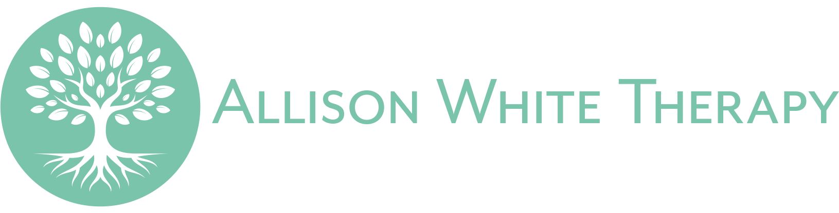 Allison White Therapy Logo
